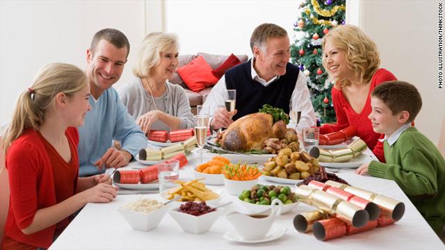 Family gatherings stress